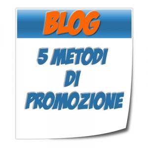 promozione blog